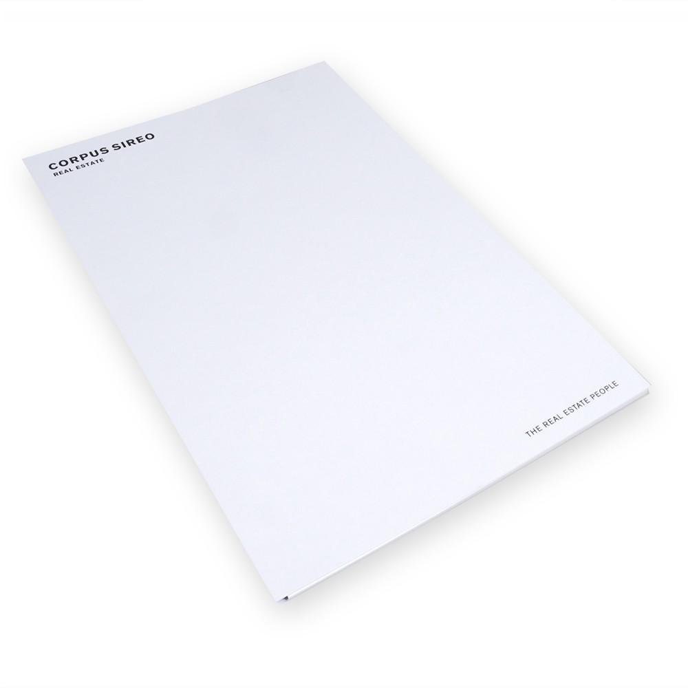 Notizblock DIN A4 - mit Umschlag (20 Stück)