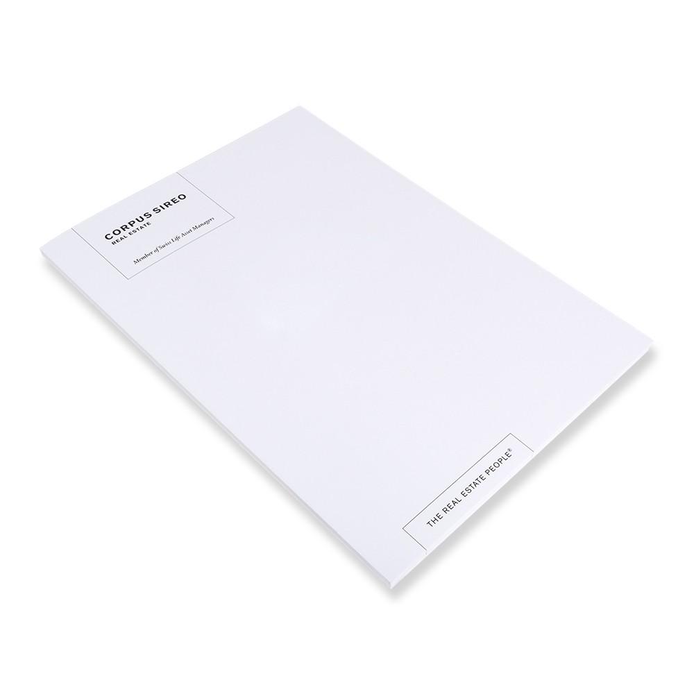 Notizblock DIN A4 (20 Stück) mit Umschlag